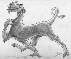 Dragon Beast by KezzaMoss
