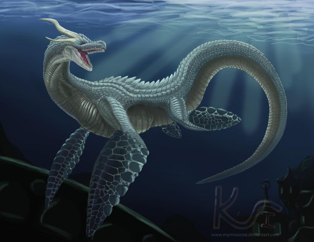 Sea Dragon by Tektyx