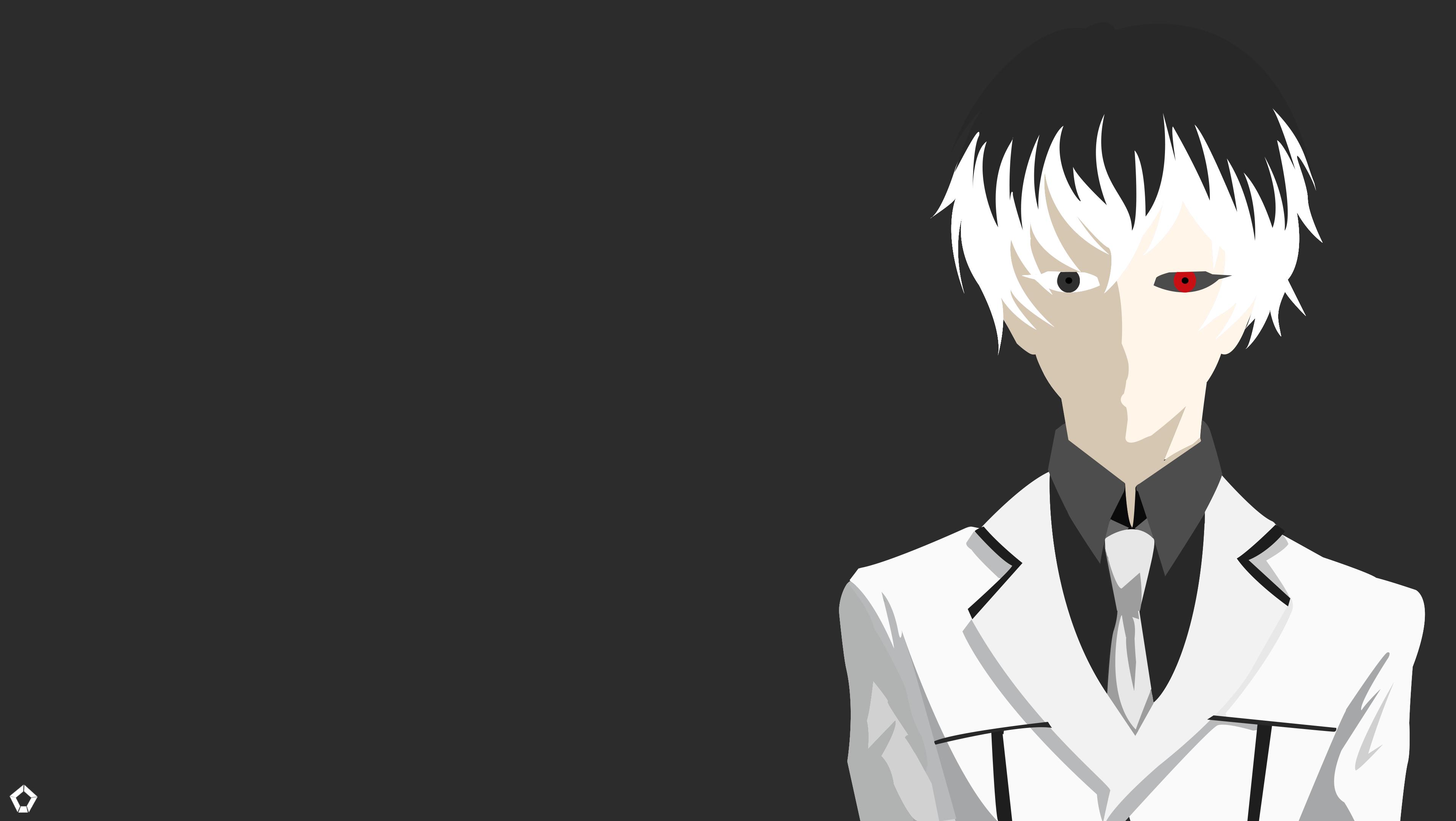 Kaneki Ken|Tokyo Ghoul| Minimalist Wallpaper by Darkfate17
