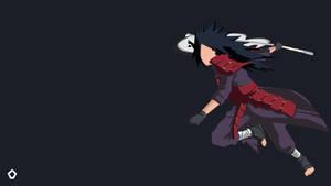 Uchiha Madara|Naruto |Minimalist Wallpaper 4K