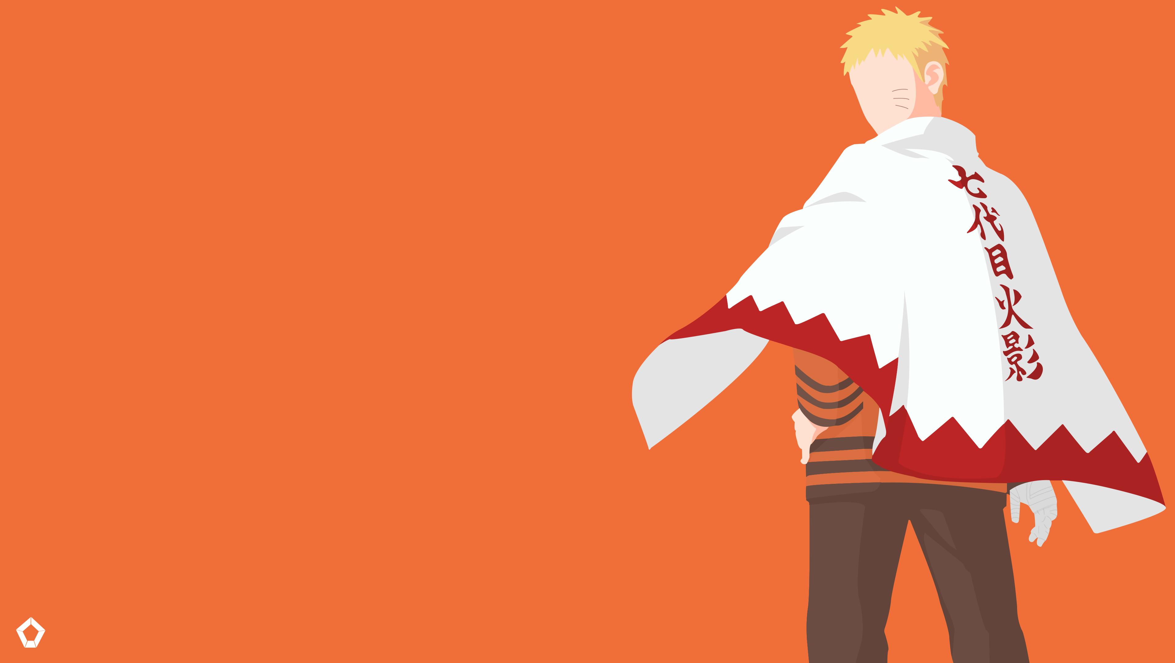 Uzumaki Naruto |Naruto |Minimalist Wallpaper by ...