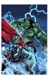 Hulk 5 Variant Cover