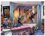 Taylor Lautner Comic pages 2-3 by ColoristKamui