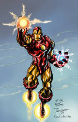 Iron Man for Tim by ColoristKamui