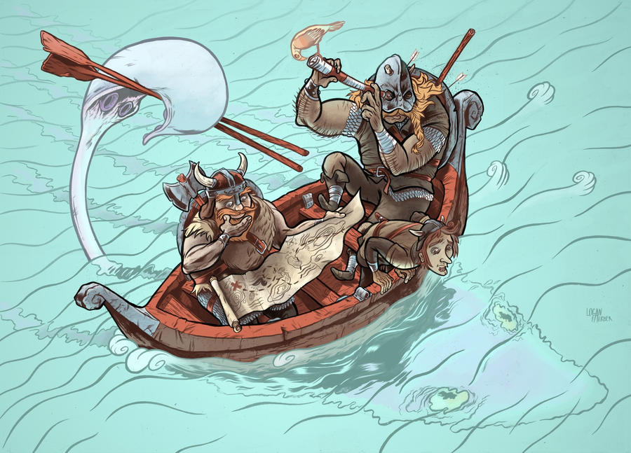 Chore Vikings by AerodynamicMountains