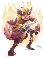 Wolverine Redesign Colored by AerodynamicMountains