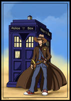 The Doctor has arrived to city by Belegilgalad