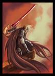 Caballero-dragon- Comission