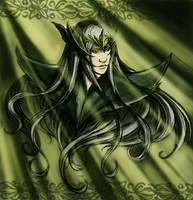 Elven king by Belegilgalad