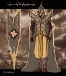 Ceremonial Sindar armour
