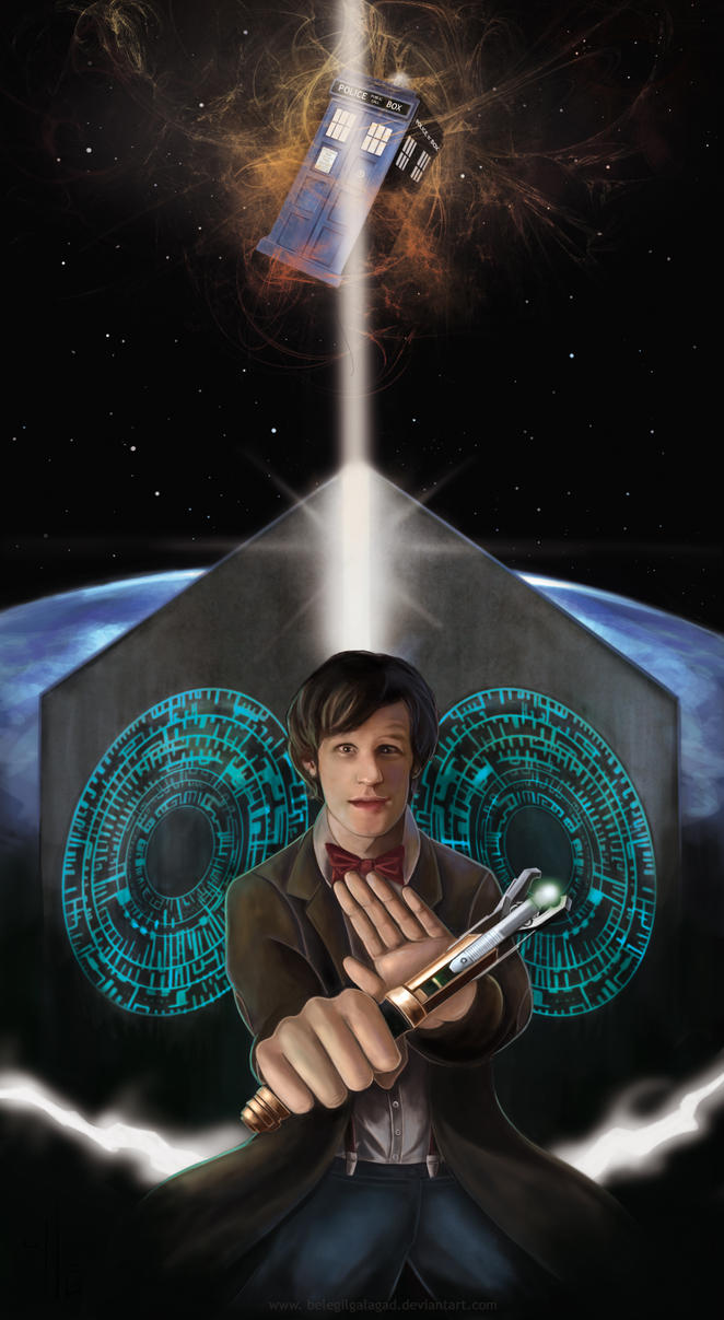 The Eleventh Doctor by Belegilgalad
