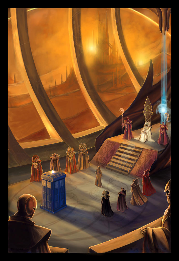 High Council of Gallifrey by Belegilgalad