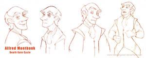 Alfred Montbank- studio character