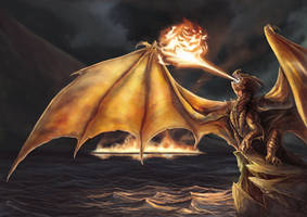 The Wrath of Smaug by Belegilgalad