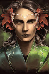 King Thranduil by Belegilgalad
