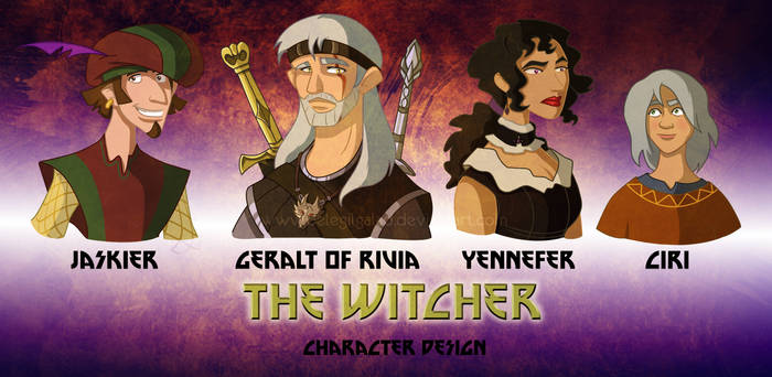 The Witcher-character design
