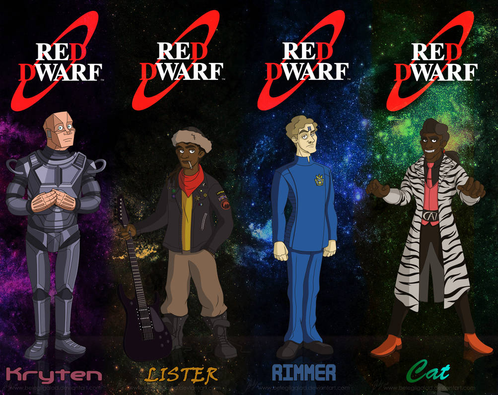 Boys from the Dwarf BOOKMARKS by Belegilgalad