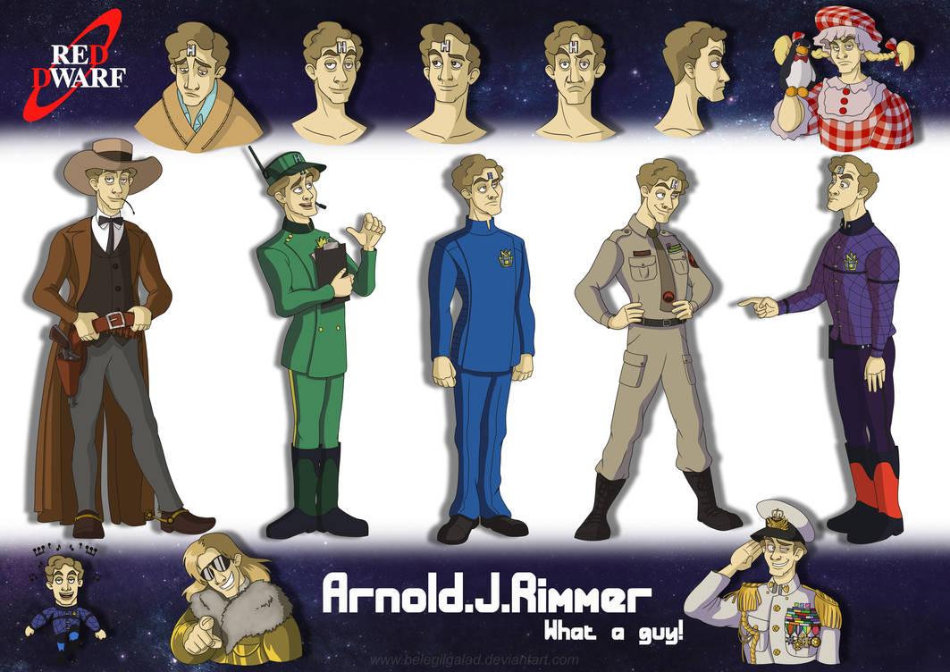 Arnold J Rimmer by Belegilgalad