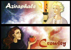 Good Omens bookmarks