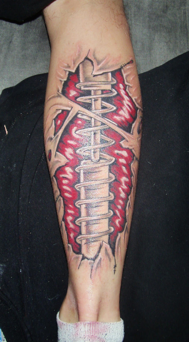 Shock Absorber Tattoo by D3adFrog