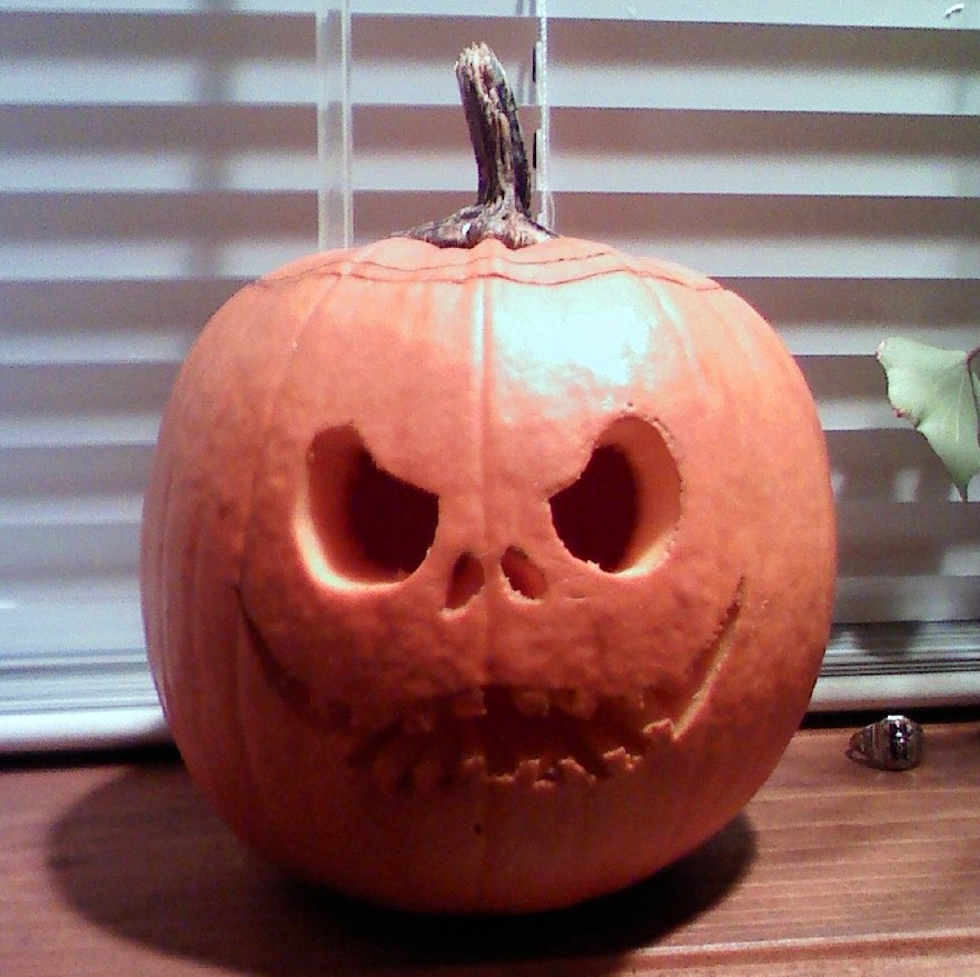 Jack Unlit Pumpkin by Tarana