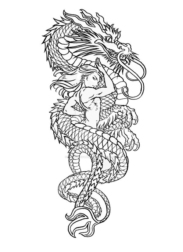 Commission: Wufei Tattoo