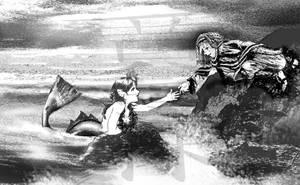 Desert Prince and Mermaid