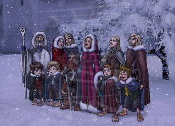 Christmas in Gondor by SapphireGamgee