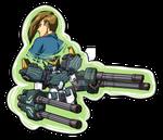 Trowa and Heavyarms