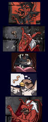 Brooklyn Comic 2- Feathered Friends by SapphireGamgee