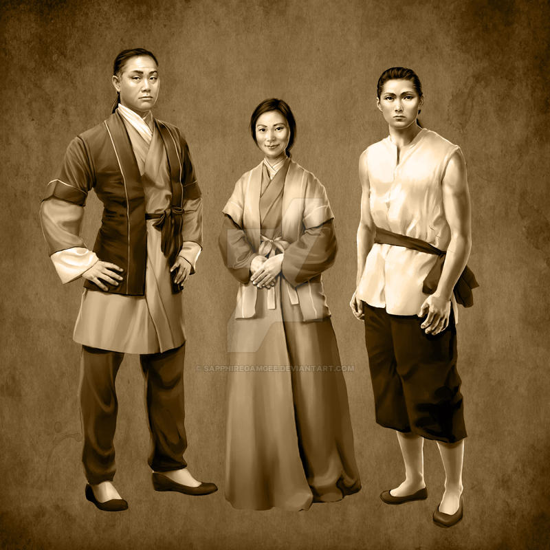 Chang Family Portrait