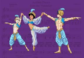The Nutcracker- Arabian Dance by SapphireGamgee