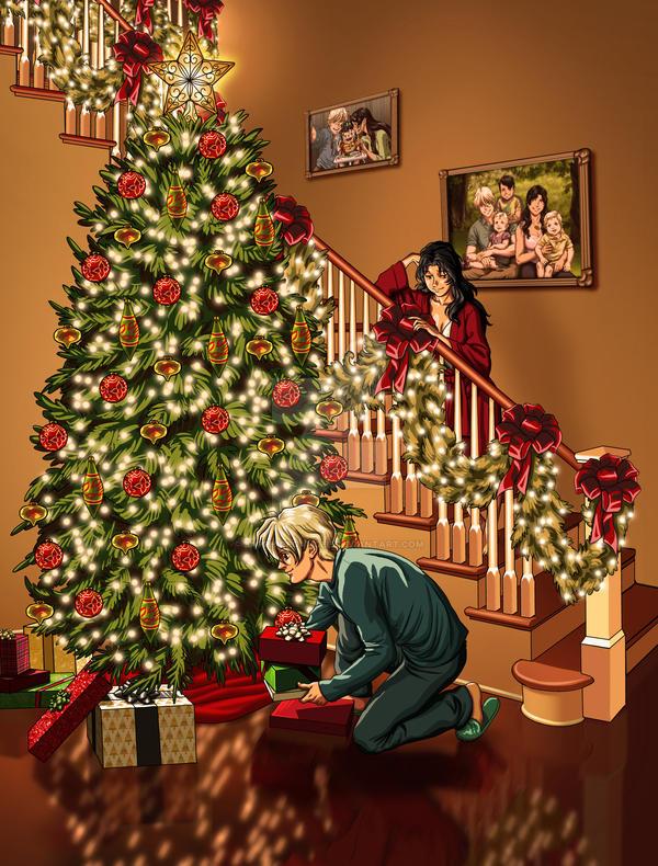 Quatre and Lista Christmas