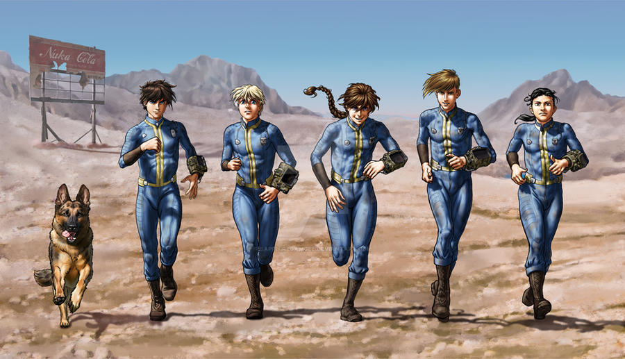 Lewd Barton Photo >> Gundam Wing Fallout Crossover by SapphireGamgee on DeviantArt