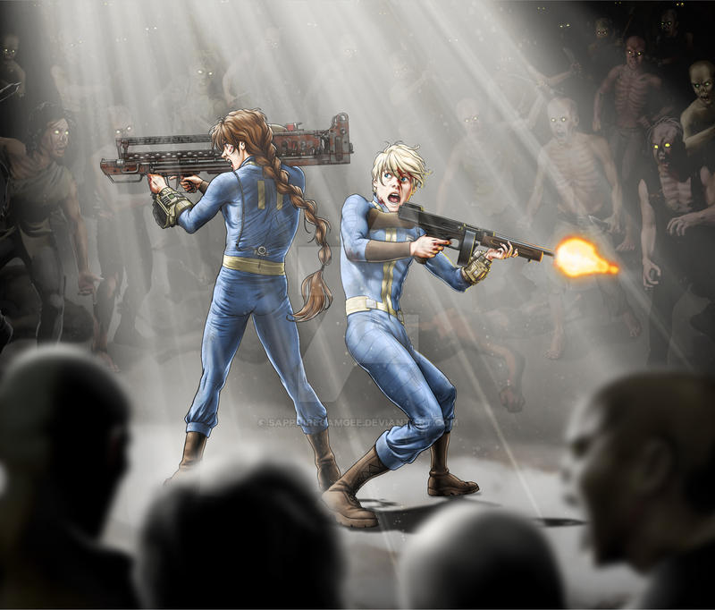 GW Fallout Crossover- Duo and Quatre