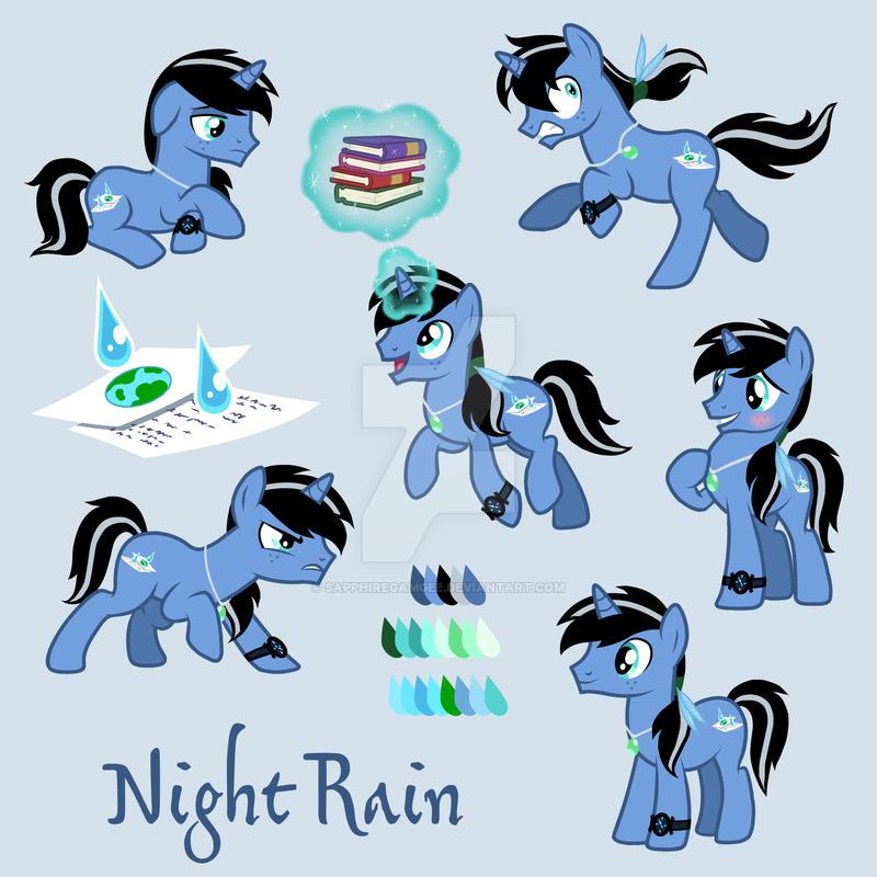 Commission: Night Rain