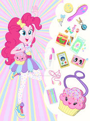 Equestria Girls Purse Meme: Pinkie Pie by SapphireGamgee