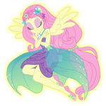 Fluttershy Power-Up
