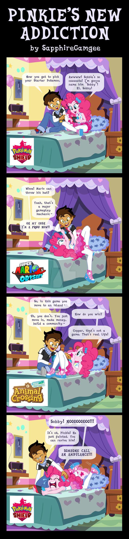 Pinkie's New Addiction