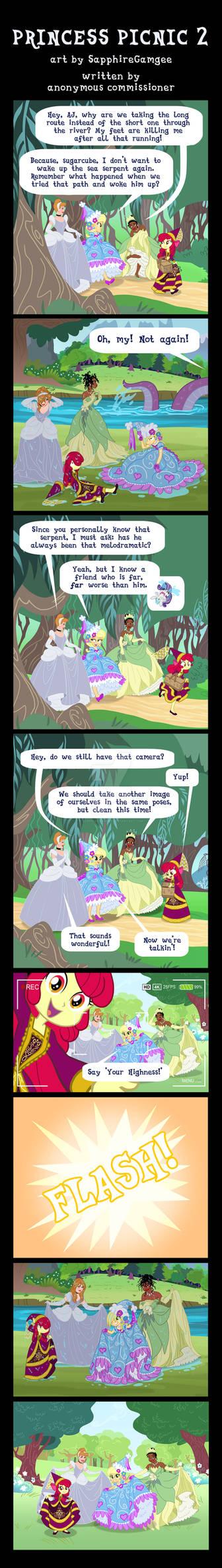 Commission: Princess Picnic 2