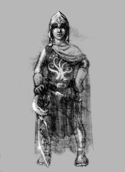 Pippin In Gondorian Armor by SapphireGamgee