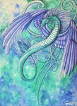 Feathered Dragon by gnarly-bones
