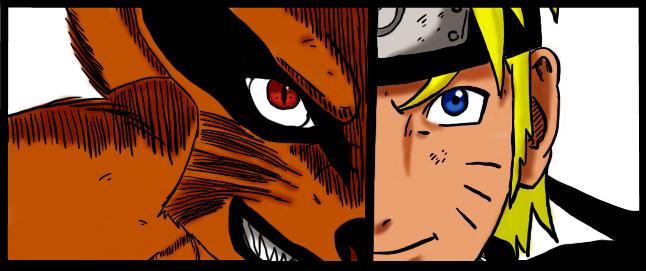 Kurama and Naruto 571 manga by LokoYoko
