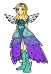 Maria Robotnik - Princess Dress by FerrumFlos1st