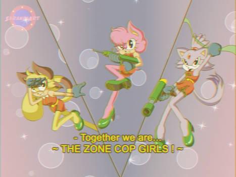 Amy Blaze and Melanie(OC) 80s anime style by KiraS