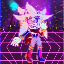 Silver glitched dimension by badboybingus
