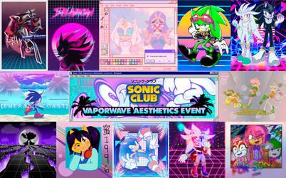 Vaporwave Event Showcase