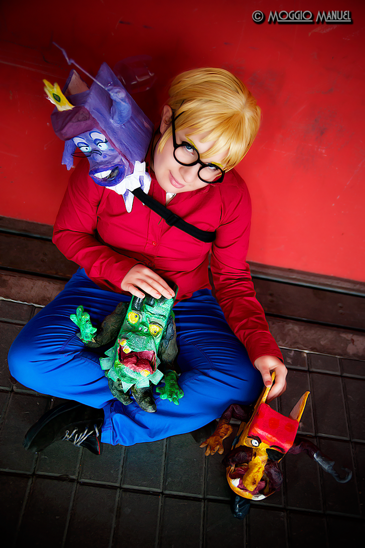 Richard Tyler - The Pagemaster Cosplay by Alexia by ManuelM81