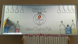 Glass Chalice Pub mirror by Thastygliax