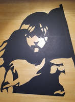 'Les Miserables' silhouette by Thastygliax
